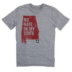 t-shirt human rights campaign No Hate In Our State T-Shirt
