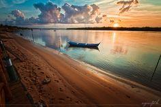 Orla do Por do Sol em Aracaju - Sergipe - Brasil