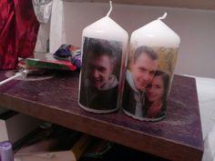 Własne nadruki na świeczki