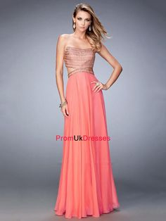 La Femme 22285 dress for your next formal event at The Castle. We are an authorized retailer for all La Femme dresses and every 22285 is brand new with all original tags! Open Back Prom Dresses, Prom Dresses 2016, Bridesmaid Dresses, Bridesmaids, Beaded Chiffon, Chiffon Gown, Designer Gowns, Designer Wedding Dresses, Strapless Dress Formal