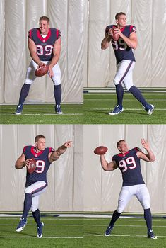 JJ Watt started as a quarterback... but ended up as the best DE ever