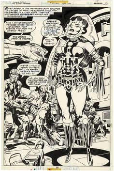 Black Panther, Issue 1  1977 Page 26 Splash