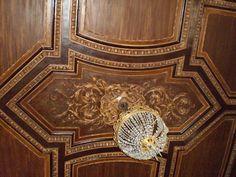 Ancien Hôtel Particulier du Ministre de la Guerre - 4 Rue Sadoya - Saint Petersbourg - Construit de 1872 à 1874 par l'architecte Rudolf Bogdanovich Bernhard - Aujourd'hui Hôtel Saint Michel - La Salle de chasse.