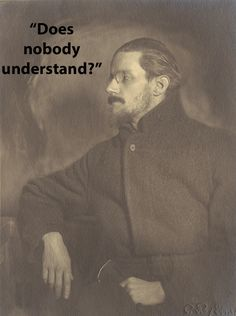 "Famous Authors' Last Words James Joyce : ""Does nobody understand?"" James Joyce died of a failed surgery, in the presence of his wife and son. James Joyce, Writers And Poets, The Words, Good Books, Books To Read, Rage Quit, Stream Of Consciousness, Book Writer, Portraits"