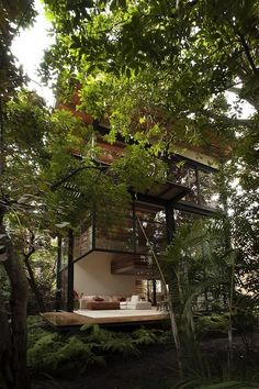 Japanese minimalism meets the mexican rainforest This is a post from Home Design Find