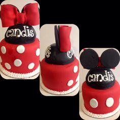Mickey/Minnie Two-Sided Cake