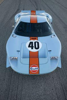 Ford GT40 Gulf/Mirage Used by Steve McQueen Fetches Record $ 11 Million in Pebble Beach - Carscoop