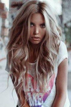Love the long hair wavy look. Hair formula 37 Advanced type hair ...long hair that is gorgeous