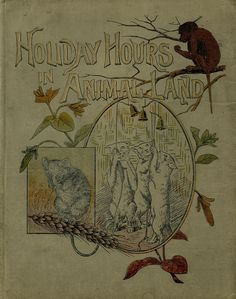 """Holiday Hours In Animal Land"" (1889?) Published By S W Partridge & Company"