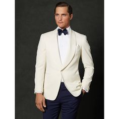 Ralph Lauren Purple Label Drake Shawl Dinner Jacket in Beige for Men (Cream) | Lyst