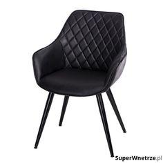 Krzesło 59x50x82cm D2 Rox czarne 5902385723930