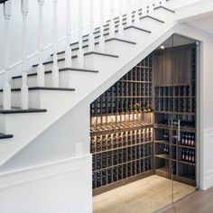 Top 70 Best Under Stairs Ideas - Storage Designs- Top 70 Best Under Stairs Ideas – Storage Designs Top 70 Best Under Stairs Ideas – Storage Designs - Door Under Stairs, Space Under Stairs, House Stairs, Staircase Storage, Stair Storage, Diy Understairs Storage, Wine Storage, Secret Storage, Hidden Storage