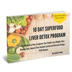 Superfood Liver Detox Program 3D cover