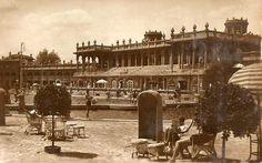 Széchenyi fürdő a években.wordpress com Budapest, Horse Racing, Hungary, Big Ben, Victorian, Horses, Architecture, Building, Painting