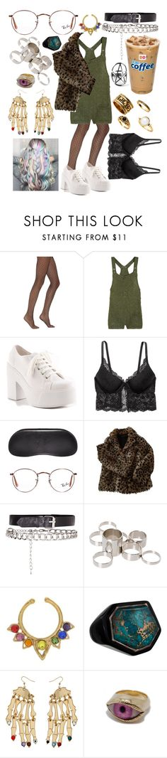 """""""Happiness is a pop song. Sadness is a poem."""" by adventuregirl12 ❤ liked on Polyvore featuring Yves Saint Laurent, Paul & Joe, Shellys, H&M, Ray-Ban, Maje, ASOS, Ippolita and Patricia Nicolas"""