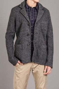 No Excess Knit Blazer