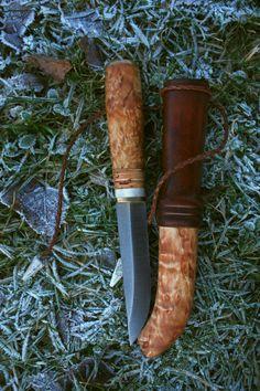 puukko with sheath. Paweł Michalski Custom knives