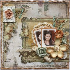XOXO **The Scrapbook Diaries** - Prima - Time Travelers Memories Collection http://gabriellepollacco.blogspot.ca/2014/06/its-here-new-beauty-grunge-mega-kit.html