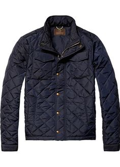 Buy Scotch & Soda Light Padded Quilted Jacket, Navy from our Men's Coats & Jackets range at John Lewis & Partners. Latest Clothes For Men, Barbour Jacket, Couture Outfits, Field Jacket, Scotch Soda, Padded Jacket, Lightweight Jacket, Quilted Jacket, Cool Outfits