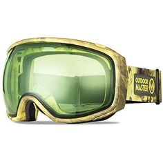 8b433e00fd New OutdoorMaster Ski Goggles PRO X - Ski   Snowboard Goggles TruVis 2X  Anti-Fog Lens Men