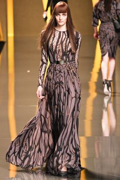 Elie Saab Fall 2012 Ready-to-Wear Collection Slideshow on Style.com