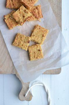 Lekker en gezond voedselzandloper recept voor appelkoeken van havermout.