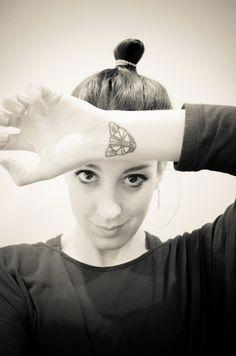 cat wrist tattoo angular