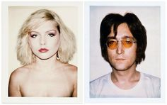 Debbie Harry / John Lennon - Andy Warhol Photo Series