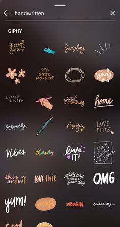 ideas at home Instagram Blog, Ideas De Instagram Story, Instagram Hacks, Instagram Emoji, Instagram Editing Apps, Creative Instagram Photo Ideas, Instagram And Snapchat, Snapchat Time, Instagram Story Filters
