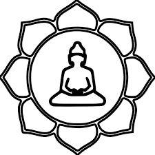 Resultado de imagem para buddha coloring mandala