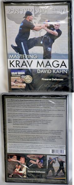 DVDs Videos and Books 73991: Brand New Mastering Krav Maga Firearm Defenses (Vol Iii) 3 Dvd Set Self Defense -> BUY IT NOW ONLY: $64.99 on eBay!