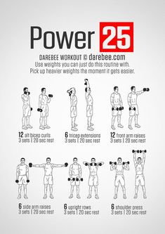 Yoga Fitness Flow - Fitness Training Tips: Power 25 Workout - Get Your Sexiest Body Ever! …Without crunches, cardio, or ever setting foot in a gym! Fitness Workouts, Fitness Tips, Fitness Motivation, Health Fitness, Fitness Fun, Cardio Workouts, Power Lifting Workouts, Enjoy Fitness, Extreme Fitness