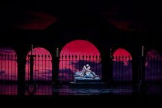 Nelson Madrigal and Misa Kuranaga in Romeo and Juliet, photo by Rosalie O'Connor.