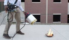 From Jill: This new sound-based fire extinguisher puts out flames by dropping the bass - News - Gadgets and Tech - The Independent