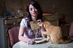 Carmen Consoli con gatto <3