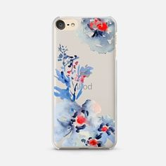 iPod Touch 6 Case Pretty Watercolor Florals