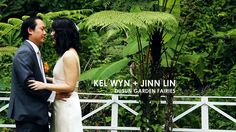 """Kel Wyn + Jinn Lin // """"She's one perfect cut diamond..."""" by Nigel Sia. It was my very first time shooting at Dusun Garden Fairies. I have heard a lot about how beautiful and spacious the place is. It was the perfect getaway from the concrete jungle. This particular Registration of Marriage (ROM) is dear to my heart, not only because the entire ceremony was extremely heart-warming but it was also the day my brother-in-law says """"I do"""" and I feel very honoured to be capturing it."""