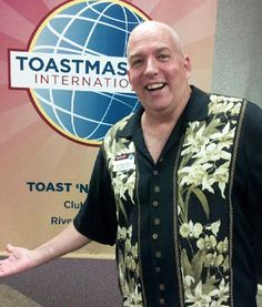 Life is Good. June 2013. Toastmasters Area Governor training for 2013-2014 year.