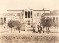 1900 ~ National Technical University of Athens (Polytechnio) Attica Athens, Athens Acropolis, Athens Greece, Greece Pictures, Old Pictures, Bauhaus, Old Time Photos, Greece Photography, Cradle Of Civilization