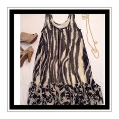 Dress by Young Threads Cute dress by Young Threads in excellent condition. Young Threads Dresses Midi