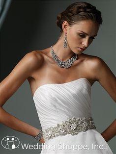 Bridal Belts and Sashes James Clifford J11234BELT Bridal Belts and Sashes Image 1