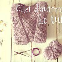 Il y a quelques jours, je vous présentais le gilet d'automne sur le blog. Le tutoriel ci-dessous vous explique comment le réaliser sur mesure à votre taille. /! Lisez bien le tutoriel en entier... Beginner Knitting Projects, Knitting For Beginners, Crochet Projects, Gilet Crochet, Knit Crochet, Free Knitting, Knitting Patterns, Simple Knitting, Boyfriend Crafts