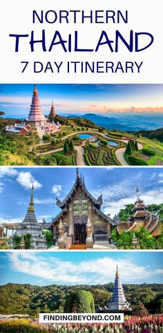 1 Week In Northern Thailand: The Best Itinerary Wish to explore the best of Northern Thailand in one week? Check out our 7 day Northern Thailand itinerary for the best mountain town highlights. Thailand Destinations, Thailand Travel Guide, Visit Thailand, Asia Travel, Laos Thailand, Travel Destinations, Croatia Travel, Hawaii Travel, Wanderlust Travel