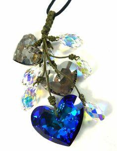 Bijoux De Ja Blue Heart and Tear Drop Swarovski Crystal Hand Woven Knot Pendant Cord Necklace Bijoux De Ja,http://www.amazon.com/dp/B00CS0LPO0/ref=cm_sw_r_pi_dp_vq6-sb1JF3X2Z7WB