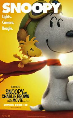 Brand New Character Posters For Snoopy and Charlie Brown: The Peanuts Movie