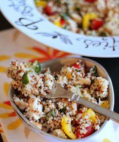 Brunch N' Cupcakes: {Summer Quinoa Salad with Fresh Basil and Lemon Honey Dressing}