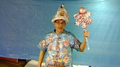 New FROZEN Costume For All Karaoke Venues, Maybe DISNEY May Check Me Out !  Super Mario Mariani