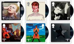 Royal Mail pays tribute to David Bowie with amazing commemorative stamps