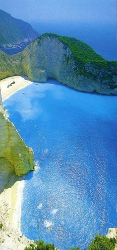 Navagio Beach, Zakynthos, Greece.