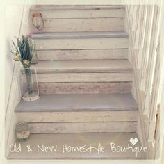 Ideas Concrete Stairs Makeover Home For 2019 - Elements: stairs - Escadas Basement Staircase, Basement Steps, House Stairs, Book Staircase, Garage Steps, Painted Staircases, Painted Stairs, Wooden Stairs, Staircase Painting